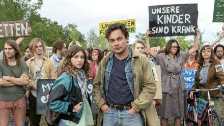 """""""Die unheimliche Leichtigkeit der Revolution"""": Franka (Janina Fautz) und Stefan (Ferdinand Lehmann) (cg/spot)"""