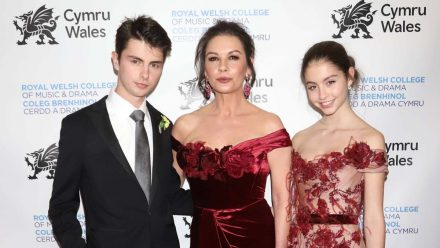 Catherine Zeta-Jones: Die Kinder sind ganz brav zu Hause geblieben