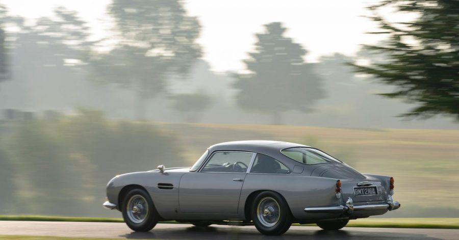 Der Aston Martin DB5 Goldfinger - so viele Umbauten wie in diesem James-Bond-Auto findet man wohl in keinem umgerüsteten Einsatzfahrzeug.