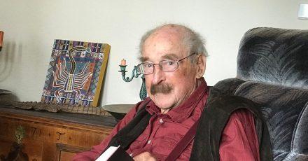 Schriftsteller Walter Kaufmann.