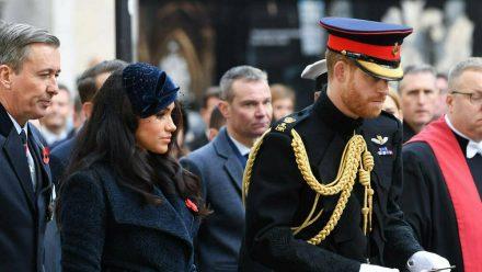 Herzogin Meghan und Prinz Harry im Jahr 2019 (wue/spot)