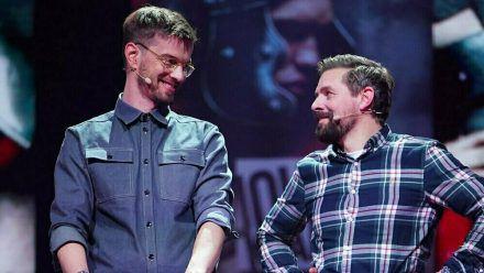 "Joko Winterscheidt und Klaas Heufer-Umlauf haben ihre Sendung ""Joko & Klaas LIVE"" dem Pflegenotstand gewidmet. (ili/spot)"