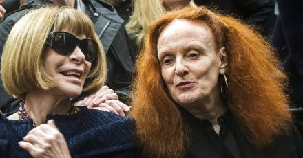 Zwei Mode-Ikonen: Anna Wintour und Grace Coddington.