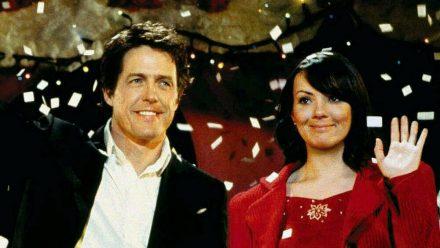 """Hugh Grant und Martine McCutcheon in """"Tatsächlich... Liebe"""" (ili/spot)"""