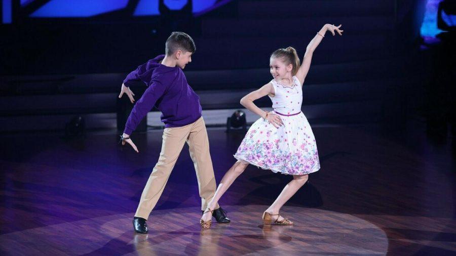 """Jona und Tizio in """"Let's Dance - Kids"""". (wue/spot)"""