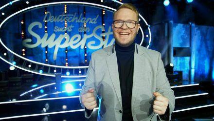 """Jan-Marten Block setzte sich im """"DSDS""""-Finale gegen drei verbliebene Konkurrenten durch. (wag/spot)"""
