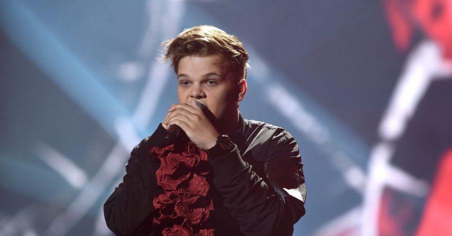 Sierra Kidd (Niedersachsen) tritt am 20.09.2014 beim zehnten Bundesvision Song Contest 2014 in Göttingen (Niedersachsen) auf. (Archivbild)