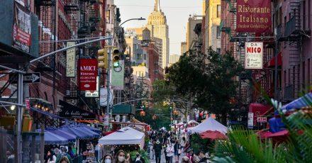 Zurück ins pralle Leben? Es wird wieder voller in New York.