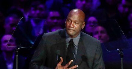 Ex-NBA-Star Michael Jordan nahm schon an der Trauerfeier für Kobe Bryant teil.