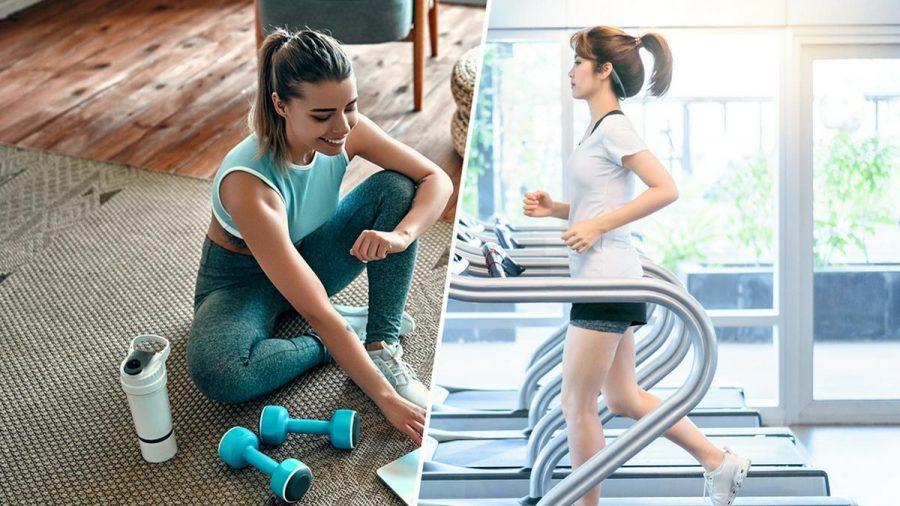 Sowohl Homeworkouts als auch Fitnessstudios bringen ihre Vor- und Nachteile mit sich. (eee/spot)