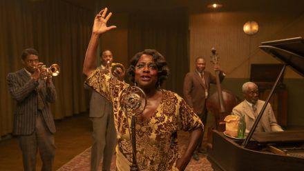 "Viola Davis als Ma Rainey in ""Ma Rainey's Black Bottom"". (cos/spot)"