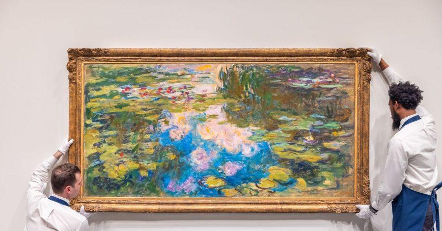 Am 12. Mai sollen Claude Monets Seerosen bei Sotheby's in New York versteigert werden.