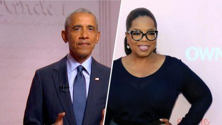 Barack Obama und Oprah Winfrey haben nach dem Urteilsspruch erfreut reagiert. (tae/spot)