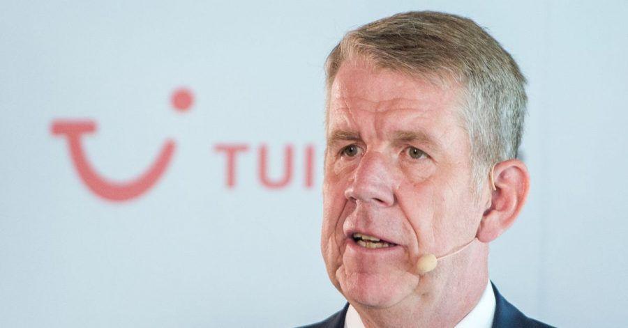 Fritz Joussen, CEO des Reisekonzerns Tui, sieht einige gute Signale für das Sommergeschäft 2021.