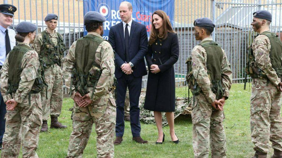 Prinz William und Herzogin Kate während ihres Besuchs in London (jom/spot)