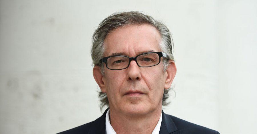 Der Autor Ulrich Peltzer 2015 in Frankfurt am Main.