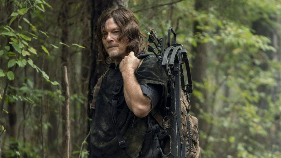 "Norman Reedus als Daryl Dixon in ""The Walking Dead"". (cos/spot)"