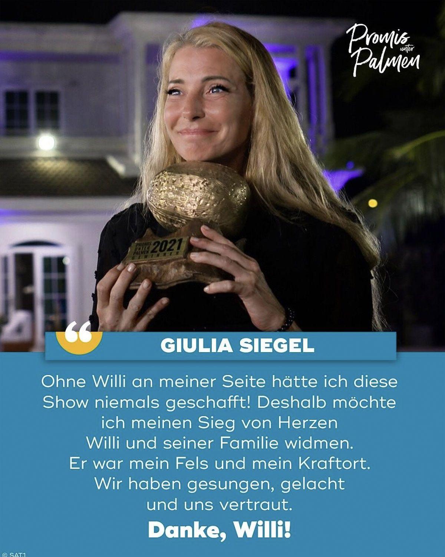 """""""Promis unter Palmen"""" 2021: Die Gewinnerin ist Julia Siegel!"""
