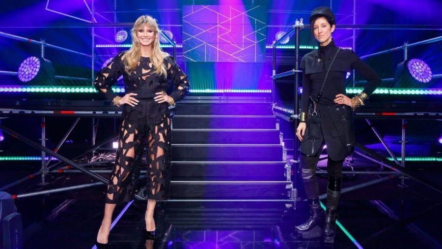 Düstere Atmosphäre bei GNTM – die Models tanzen zu Techno-Beats