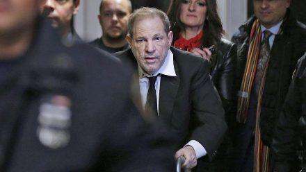 Harvey Weinstein: Einzelheiten zu neuen Vorwürfe erwartet