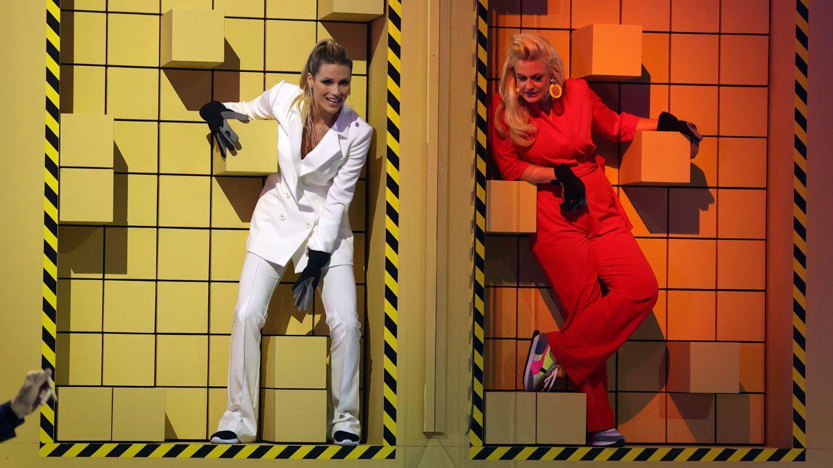 Hier hängen Michelle Hunziker und Barbara Schöneberger ab