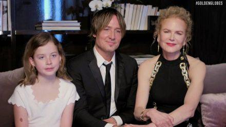 Nicole Kidman kümmert sich um die Füße der Familie