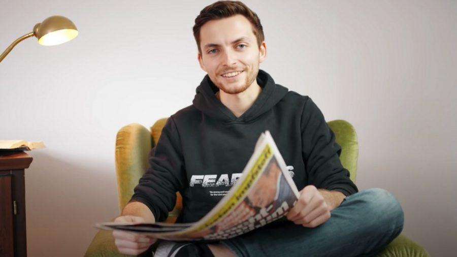 Philipp Mickenberger hat Krebs: Warum er sich für BILD ausgezogen hat