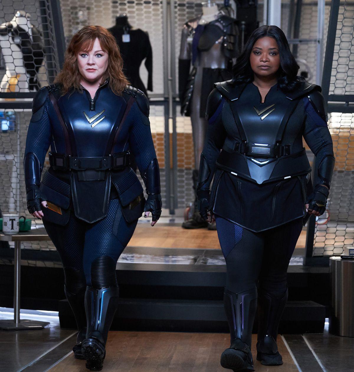 """Neu bei Netflix: """"Thunder Force"""" mit Melissa McCarthy und Octavia Spencer"""