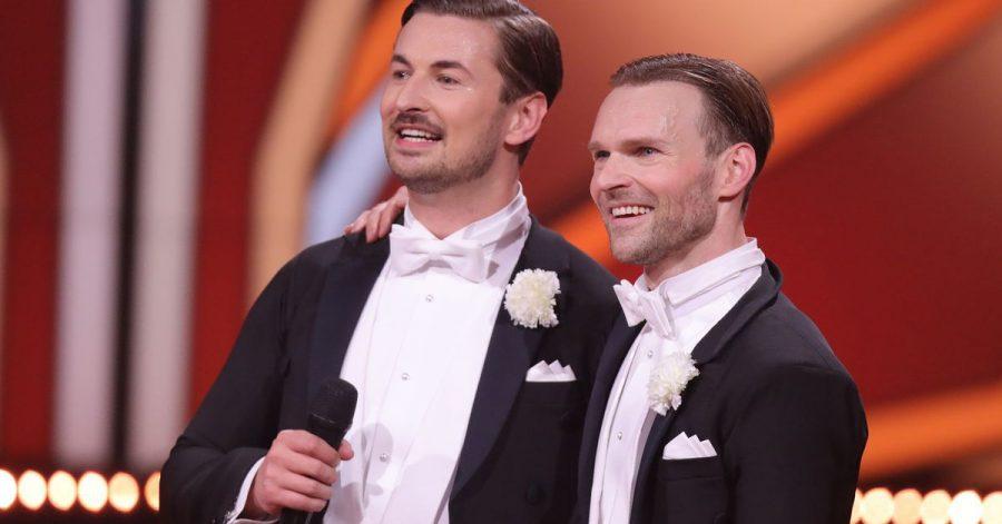 Nicolas Puschmann (l) und sein Tanzpartner Vadim Garbuzov bekommen noch eine Chance.