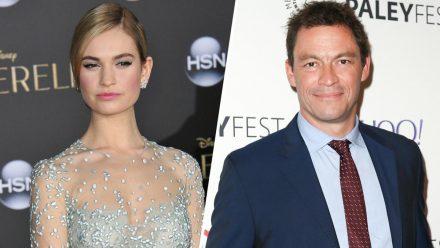 Lily James und Dominic West sollen sich in Rom näher gekommen sein. (rto/spot)