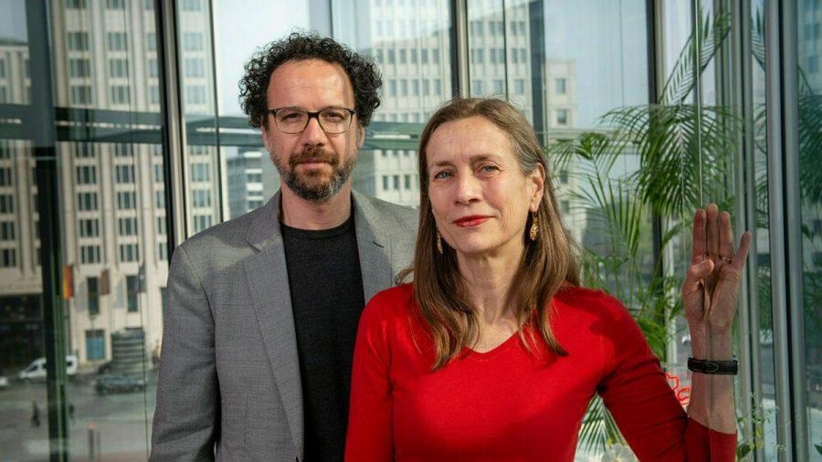 Mariette Rissenbeek und Carlo Chatrian, das leitende Duo der Berlinale (wue/spot)