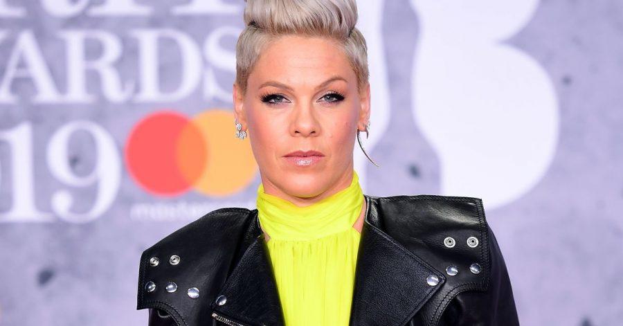 Sänegrin Pink bei den Brit Awards 2019.
