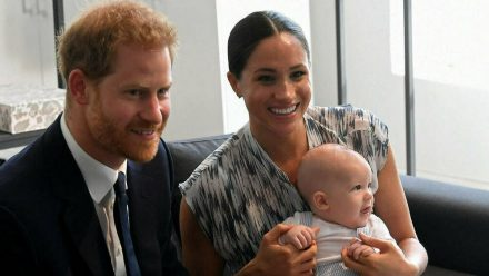 Prinz Harry, Herzogin Meghan und der kleine Archie im September 2019. (wue/spot)