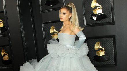 Ariana Grande während eines Auftritts im Januar 2020 (wue/spot)