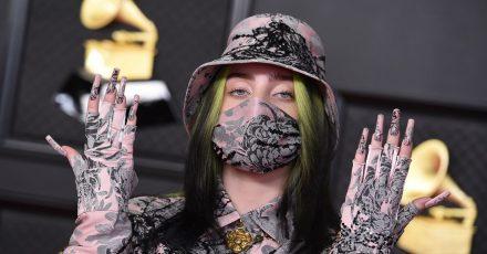 Billie Eilish bei den Grammy Awards im Los Angeles Convention Center im März.