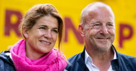 Heino Ferch und Ehefrau Marie-Jeanette wohnen mit ihren Kindern am Ammersee.
