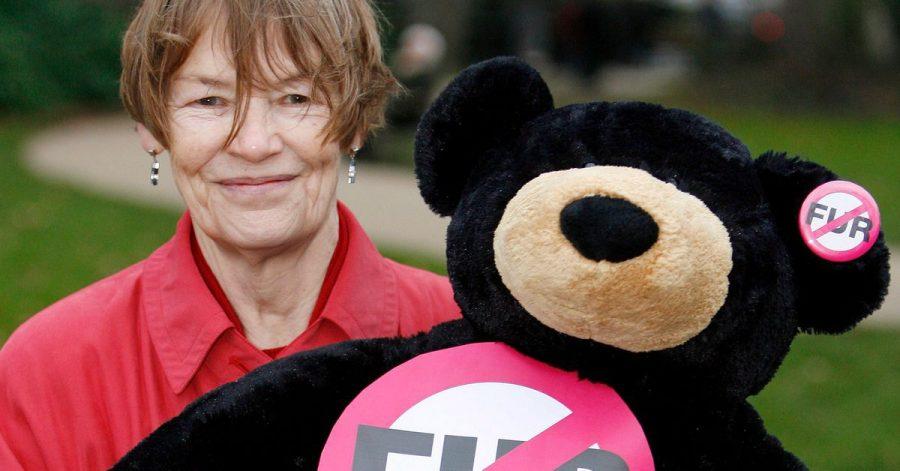 Glenda Jackson, Filmstar und damalige Labour-Abgeordnete, 2007 in London.