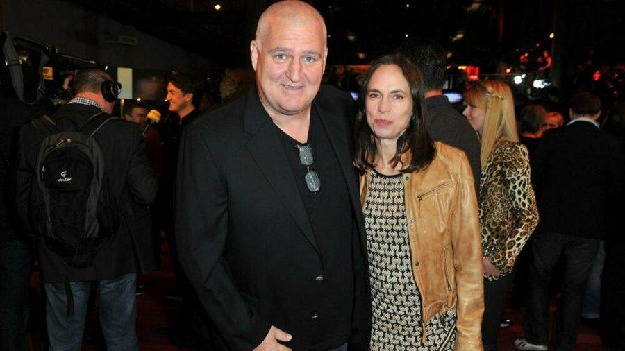 Markus Maria Profitlich und Ingrid Einfeldt beim Deutschen Comedypreis 2012. (jom/spot)
