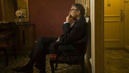 Bill Gates im Jahr 2013, in dem er sich mit Jeffrey Epstein getroffen haben soll (wue/spot)