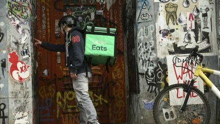 Uber Eats startete am Mittwoch in Berlin (dr/spot)