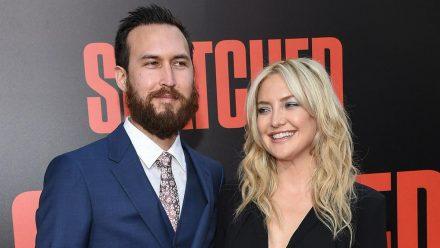 Kate Hudson und Danny Fujikawa bei einer Premiere in Beverly Hills - 2017 trug der Musiker auch kürzere Haare. (hub/spot)