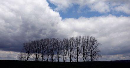 Sturmtief «Eugen» bringt Deutschland ab Dienstag Regen, Sturmböen, Schauer und Gewitter.