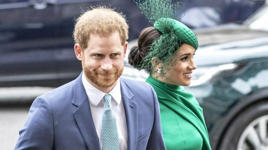 Prinz Harry und Herzogin Meghan bei einem Auftritt in London (hub/spot)
