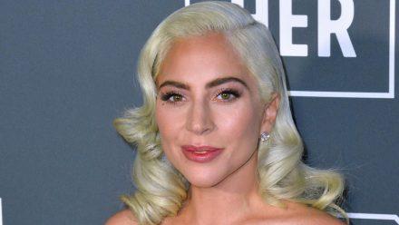 Lady Gaga bei einem Auftritt in Santa Monica. (hub/spot)