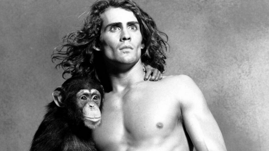 "William Joseph ""Joe"" Lara in seiner Paraderolle als Tarzan (stk/spot)"