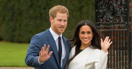 Der britische Prinz Harry und die US-amerikanische Schauspielerin Meghan Markle.
