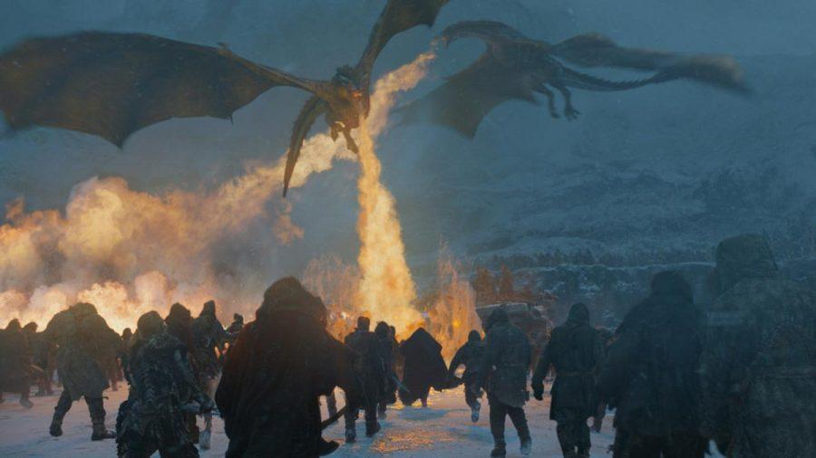 """Schon in """"Game of Thrones"""" spielten Drachen eine wichtige Rolle (wue/spot)"""