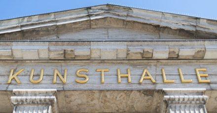Die Kunsthalle in Hamburg gehört zu den Häusern, die wieder für Besucher öffnen..
