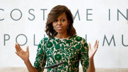 Michelle Obama sorgt sich um ihre Töchter Malia und Sasha. (wag/spot)