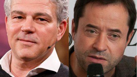 """Michael Tsokos (l.) war doch nicht neben Jan Josef Liefers im """"Tatort"""" zu sehen. (jom/spot)"""